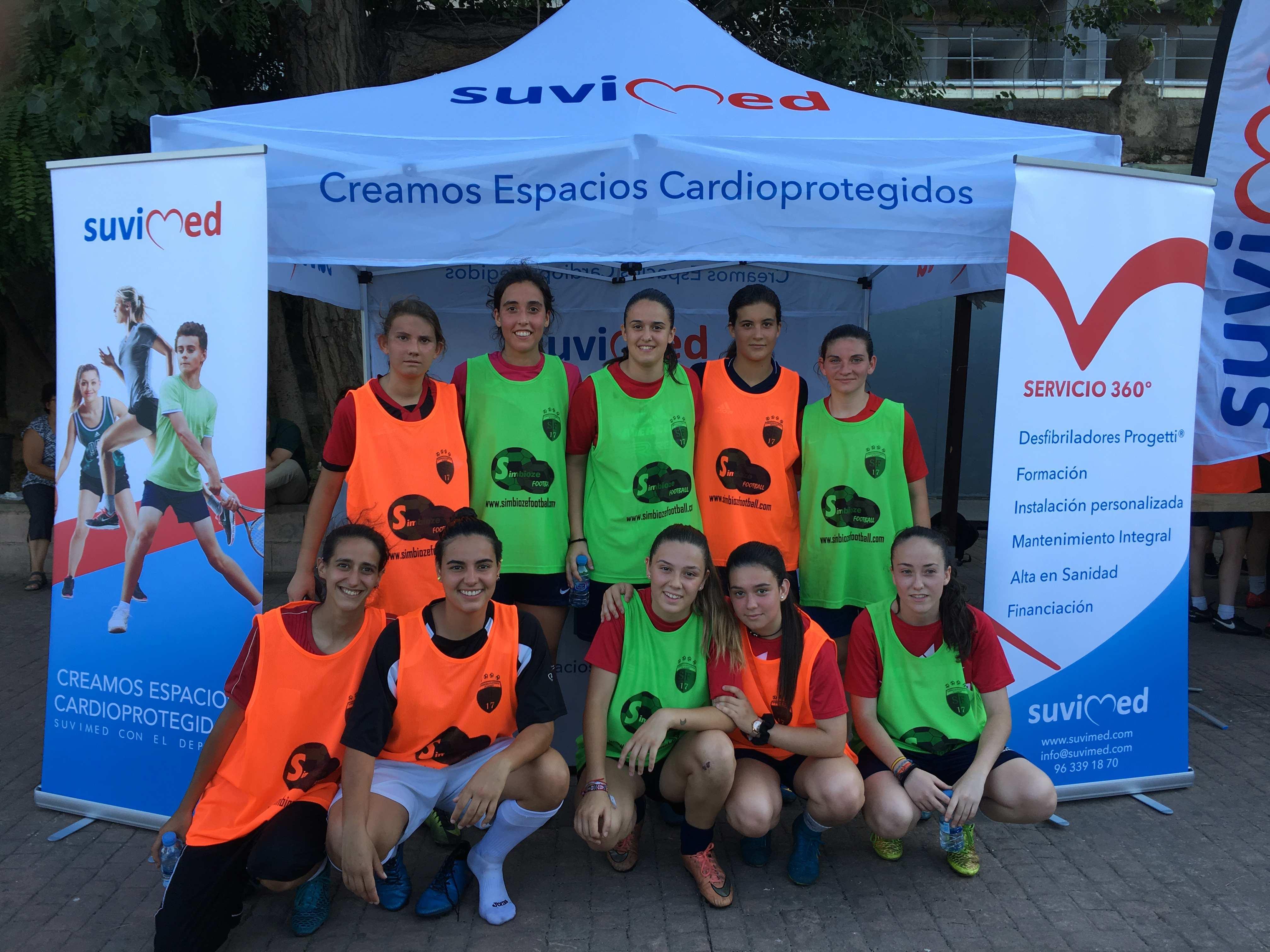 Suvimed crea un espacio cardioprotegido en Valencia